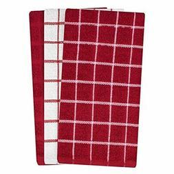 Kitchen Dish towels 100% pure cotton terry machine wash crea