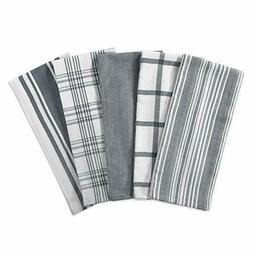 Kitchen Dish Towels , Ultra Absorbent &amp Fast Drying, Grad