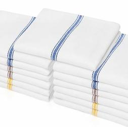 "Liliane Collection 13 Kitchen Dish Towels - 27"" x 14"" 2-ply"