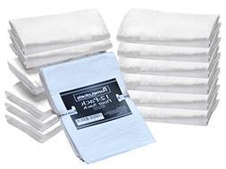 HomeLabels Kitchen Flour Sack Towels, 12 Pack, 30 x 36 Inch