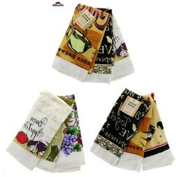 Kitchen Hand Dish Towels ~ Assorted Designs ~ New