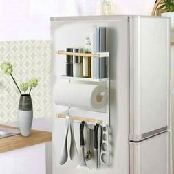 Kitchen Rack Fridge Magnetic Organizer Design Paper Towel Ho