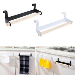 Kitchen Roll Paper Storage Rack Towel Holder Tissue Hanger U