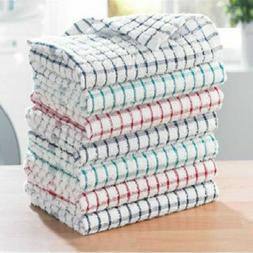 Kitchen Tea Towels Dish Cloth Absorbent Drying Towel Washing