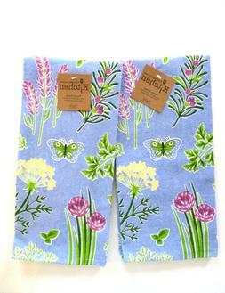 Kay Dee Designs - Kitchen Terry Towels - Herb Garden Flowers