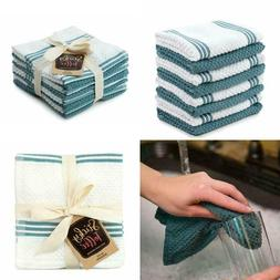 kitchen towel cotton terry dishcloth blue dishcloth