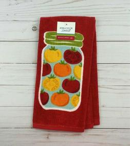 Ritz Kitchen Towel Dish Terrycloth Hand Canning Mason Jar To