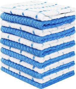 12 Pack Kitchen Towel Dish Cloth Super Absorbent Tea Towels