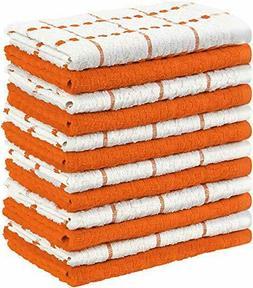12 Pack Kitchen Towel Dish Cloth Super Absorbent Tea Towels