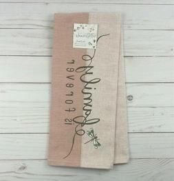 Kay Dee Designs Kitchen Towel Family Is Forever Dragonfly