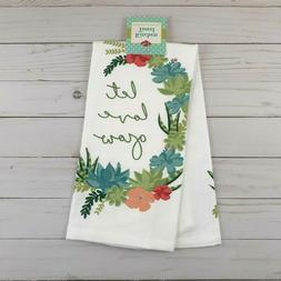 Ritz Kitchen Towel Let Love Grow Floral Dual Purpose