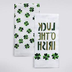 """Luck O' the Irish"" St. Patrick's Day Kitchen Towel Set"