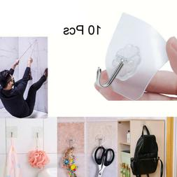 Kitchen Towel Suction Cup Hook Strong Hanger Holder Clear Ba