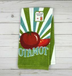 Ritz Kitchen Towel Terrycloth Canning Tomato Farm