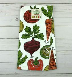 Ritz Kitchen Towel Veggie Toss Dual Purpose