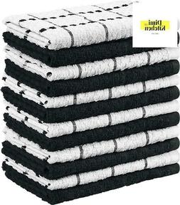 Kitchen Towels, 15 x 25 Inches, 100% Ring Spun Cotton Super