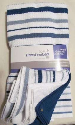 Kitchen Towels 16 in x 28 in - Better Home & Gardens 4-Pack