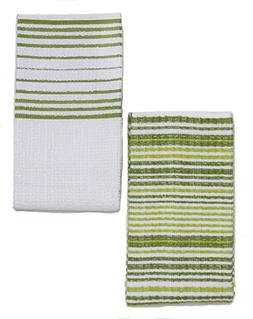 Kuk's Cuisine Kitchen Towels - Ultra Absorbent - 100% Cotton