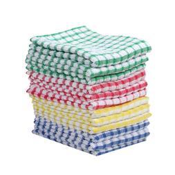 Kitchen Towels Bulk 100% Cotton Dish-Cloths Scrubbing Dishcl