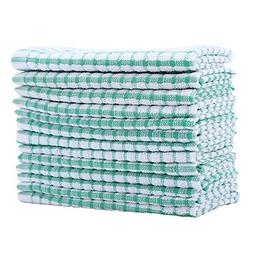 12 Pieces Dish Cloth 100% Cotton Kitchen Towels Lot Cloths S