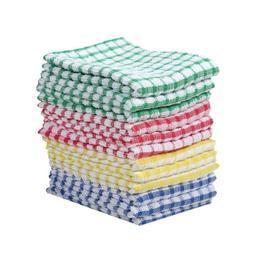 Kitchen Towels Bulk 100 Cotton Kitchen Dish-Cloths Scrubbing