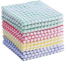 Kitchen Towels Bulk Cotton Kitchen Dish-Cloths Scrubbing Dis