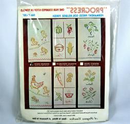 Progress Kitchen Towels Cross Stitch Kit Embroidery Chicks C