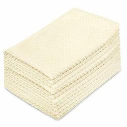 Cotton Craft Kitchen Towels -Euro Cafe Waffle Weave Terry- 1
