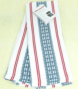 "Kitchen Towels Set of 2 KitchenAid dish hand 16x28"" ~ Blue &"