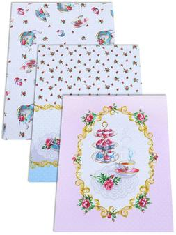 Kitchen Towels Set of 3 Made Russia Cotton Dish Tea Towels F