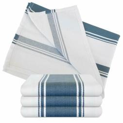 The Homemakers Dish Kitchen Towels Vintage Striped 100% Cott