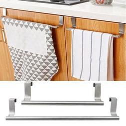 Kitchen Under Cabinet Towel Paper Hanger Rack Organizer Stor