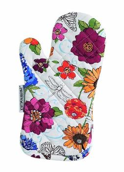 Ritz Kitchen Wears Print Thumb Mitt, Signs of Spring