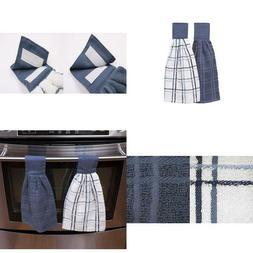 Kitchenwears Cotton Solid Oversized Kitchen Dish Towel Set 2