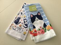 Kohl's Celebrate Spring Together Spring Cat Kitchen Towels