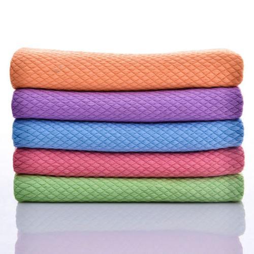 1/5 Pcs Square Tea Towels Kitchen Dry Hair Dish