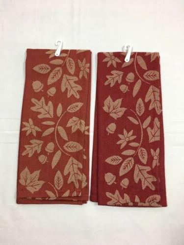"DII Cotton Kitchen Towels 18"" 28"" Set of 2"