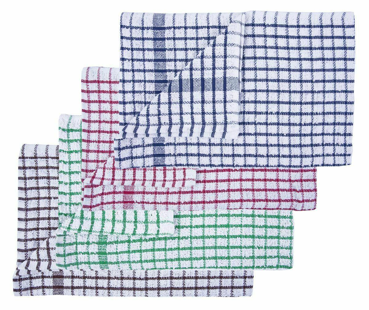 100% Towels Kitchen Dish Cloths Cleaning PACK