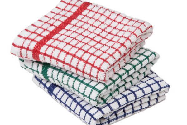 100% Cotton Terry Towels Cloths PACK