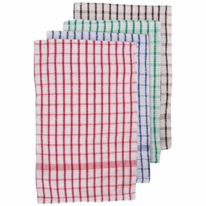 100 percent cotton terry tea towels set