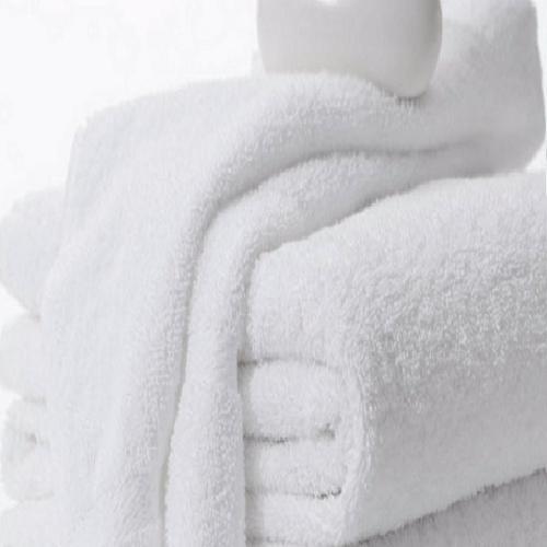 12 TOWELS WHITE 100% PACK 6 LBS BRAND FOR HOTEL