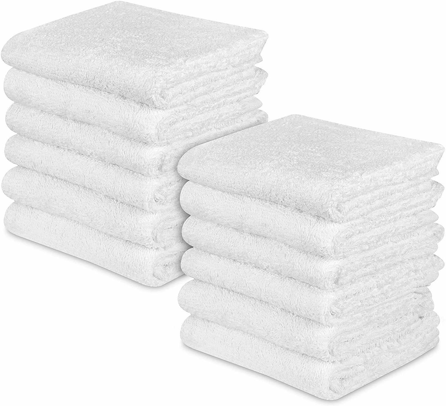 12 Towels Cleaning Car Cotton