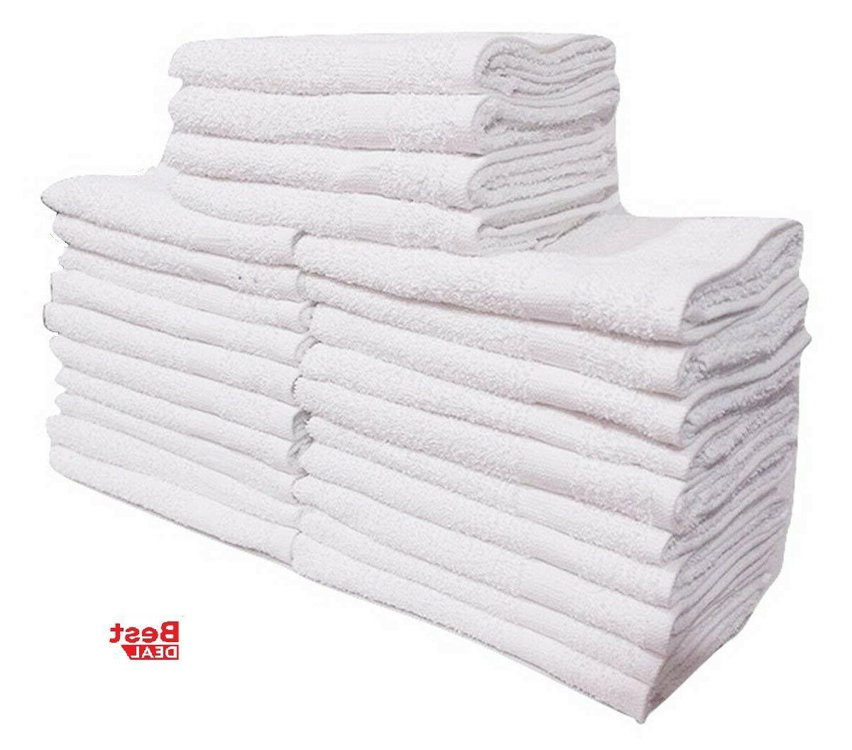 12 new cotton hand towels 16x27 100% DEAL spa