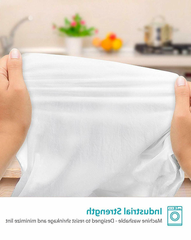 "Zeppoli 12-Pack Flour Towels 31"" Kitchen Towels - Absorbent"