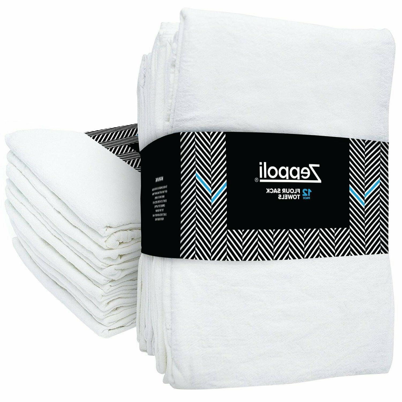 12 pack flour sack towels 31 x