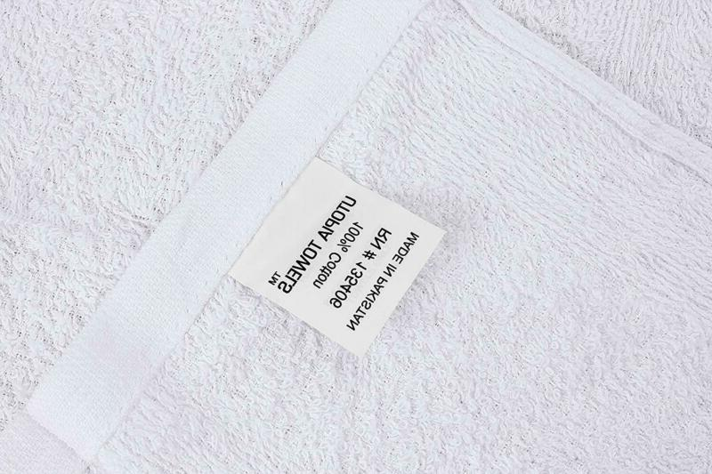 Utopia Kitchen Bar Towels 16 19 White Bar Towels