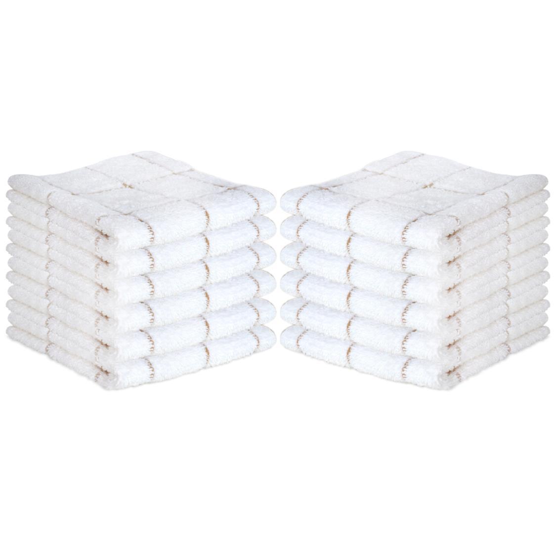 12 Cotton Towels x - Color