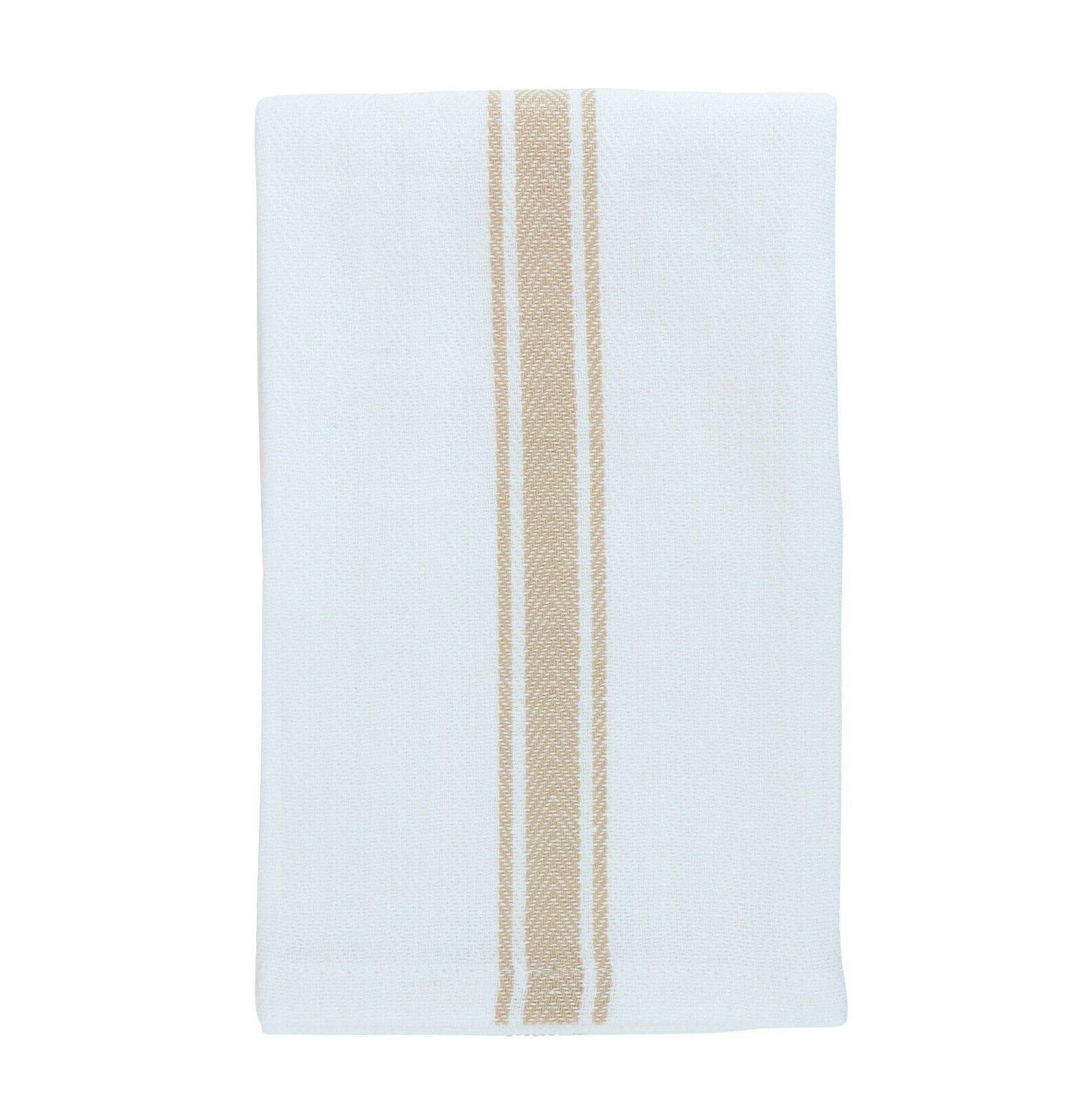 12 of Dish Towels x 25 in - Color