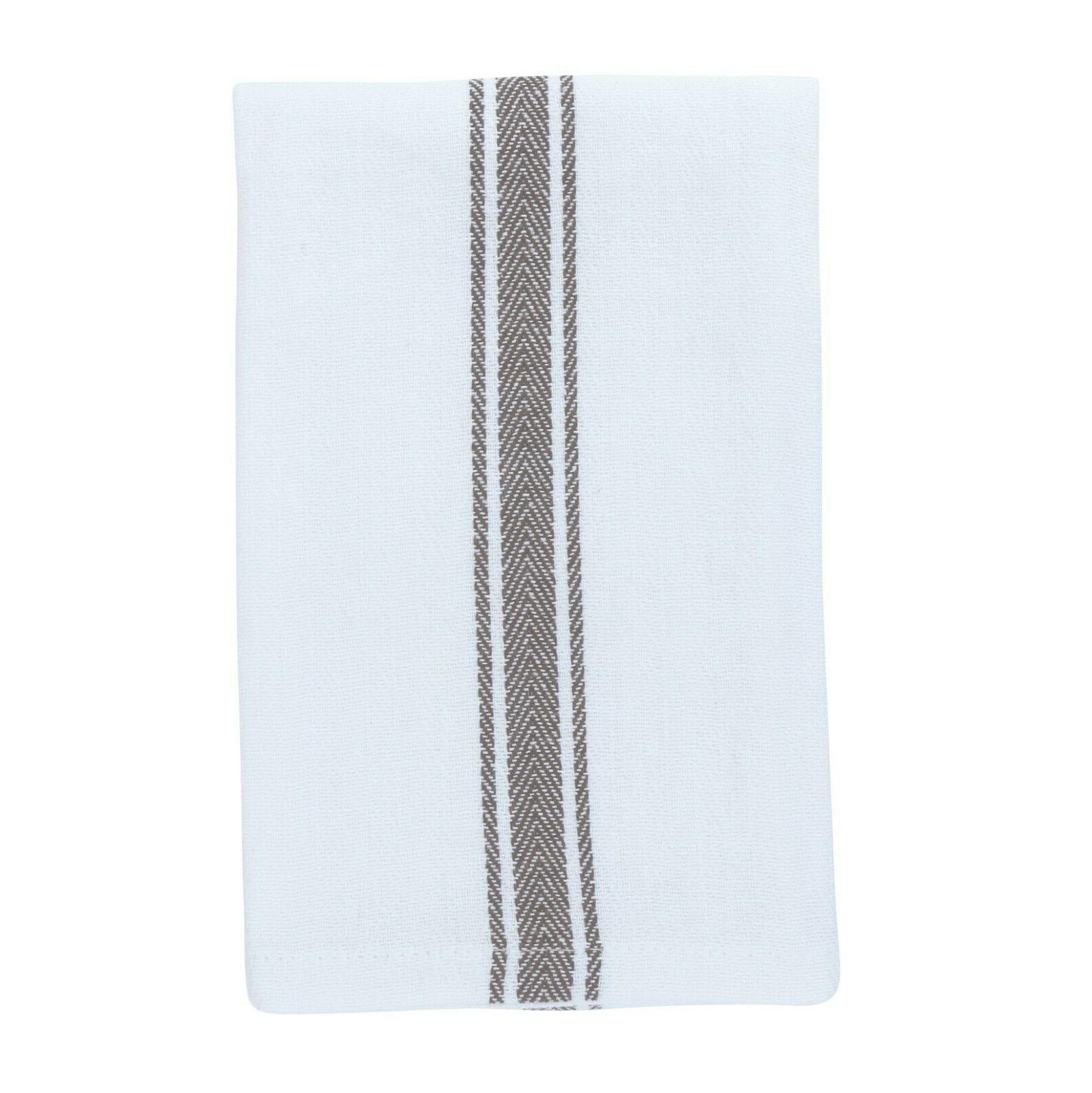 12 Kitchen Tea Towels Dish - x 25 Color Options