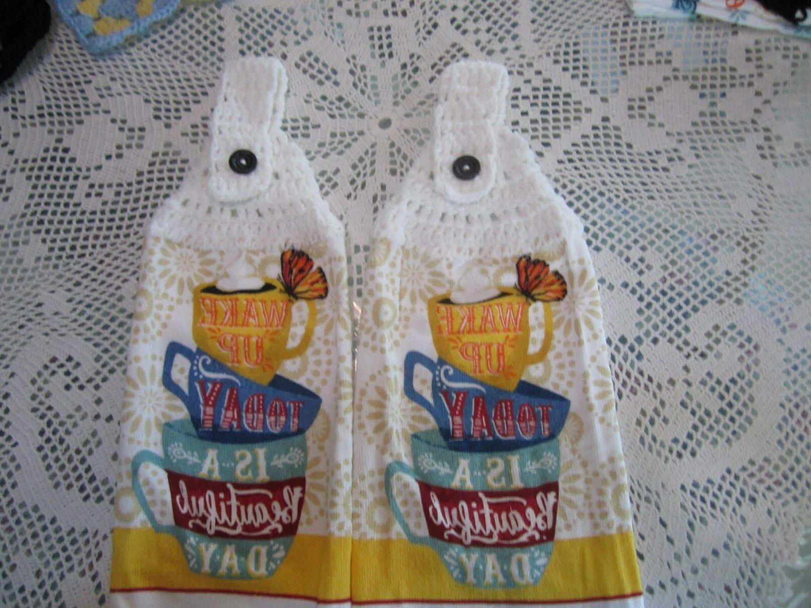 *** KITCHEN COTTON, TOPS COFFEE CUPS